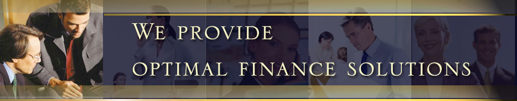 We Provide Optimal Finance Solutions.